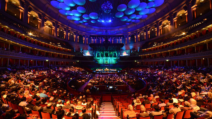 ROYAL ALBERT HALL - MUSIC OF THE DIVINE-slide