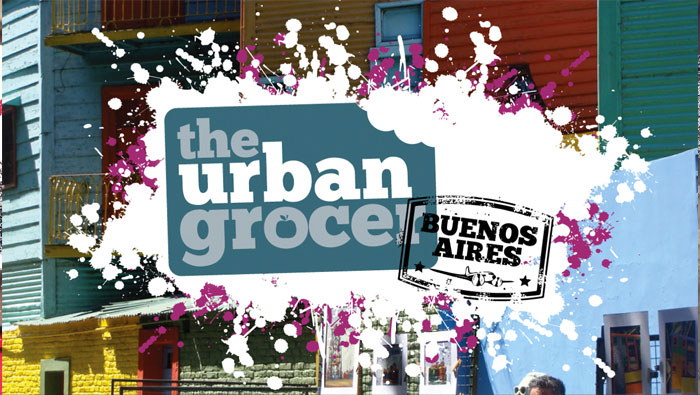 THE URBAN GROCER -slide