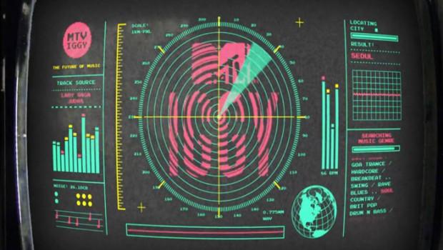 MTV IGGY - Radar Logo Ident