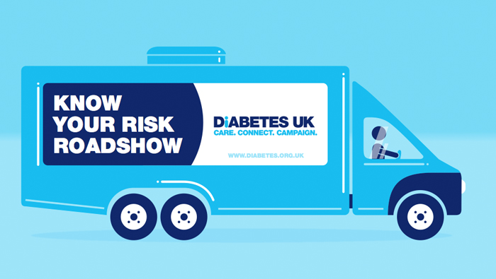 Diabetes UK – Roadshow Animation