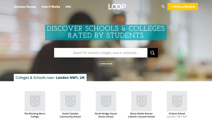 Loop – review site for education