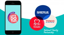 Tesco Charity Partnership – Let's Do This Goal Setter