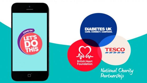 Tesco Charity Partnership - Let's Do This Goal Setter