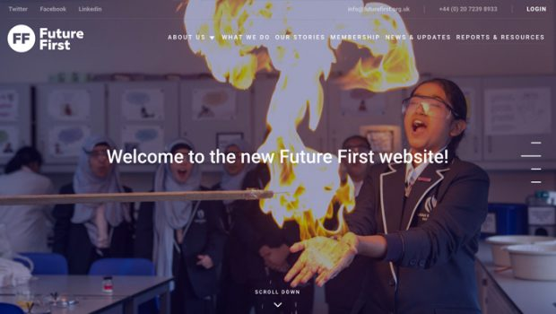 Future First Website